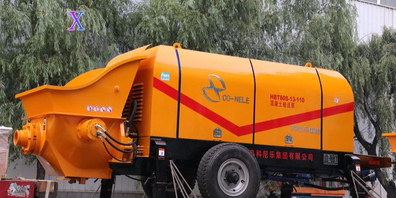 科尼乐混凝土泵在新农村建设中的应用