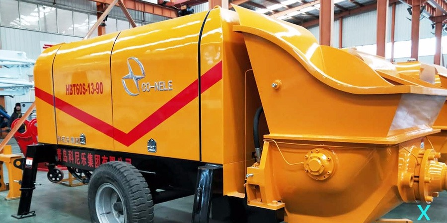 混凝土拖泵优势、适用范围