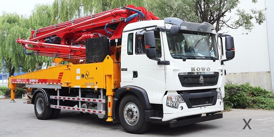 科尼乐陪您了解小型混凝土泵车常见故障