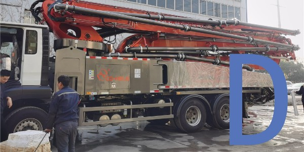 泵车伸展布料杆应按出厂说明书的顺序进行