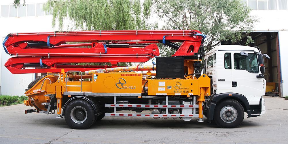 科尼乐 重汽T5G30米 混凝土泵车