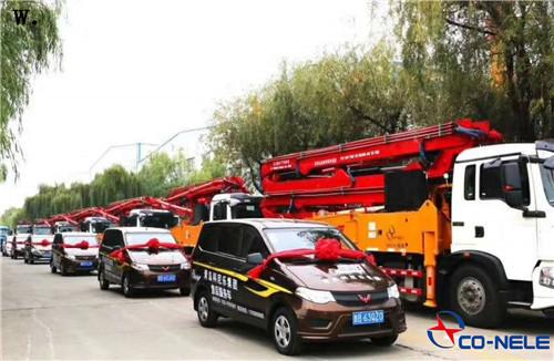 Q小型混凝土泵车价格,混凝土泵车厂家,科尼乐集团,小型泵车