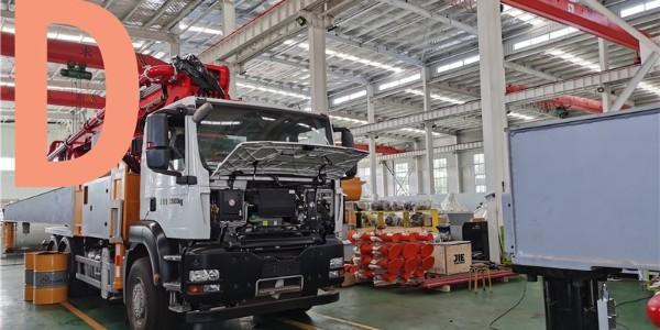 混凝土泵车在什么场合下施工?