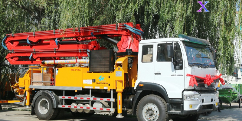 小型混凝土泵车泵送混凝土时不能打哪些骨料?——科尼乐