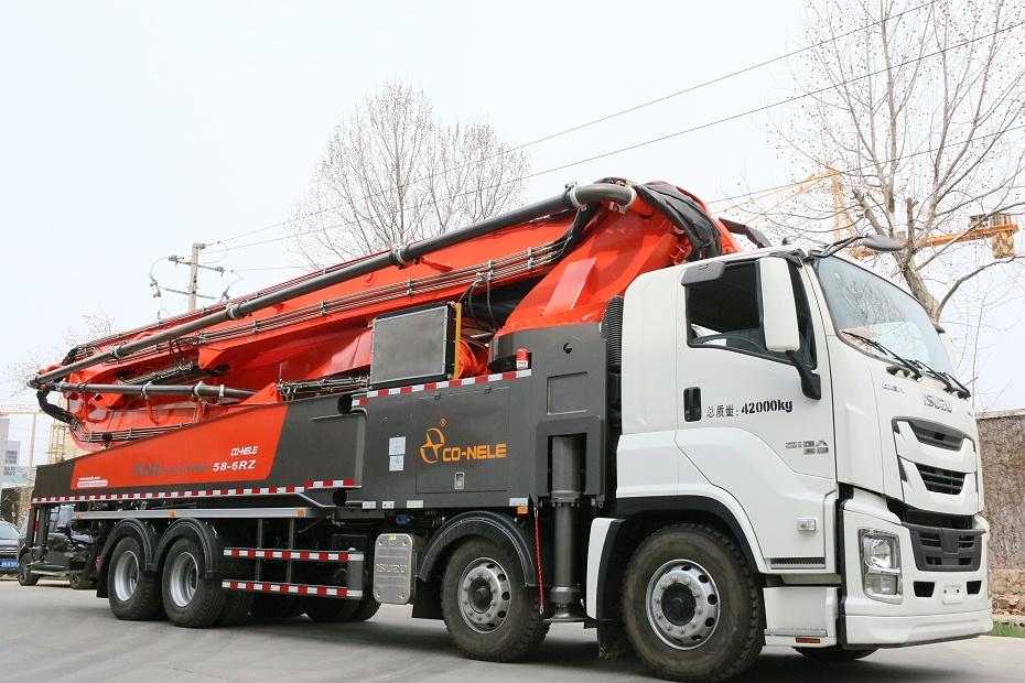 KNL5420THB重庆五十铃58米泵车---11