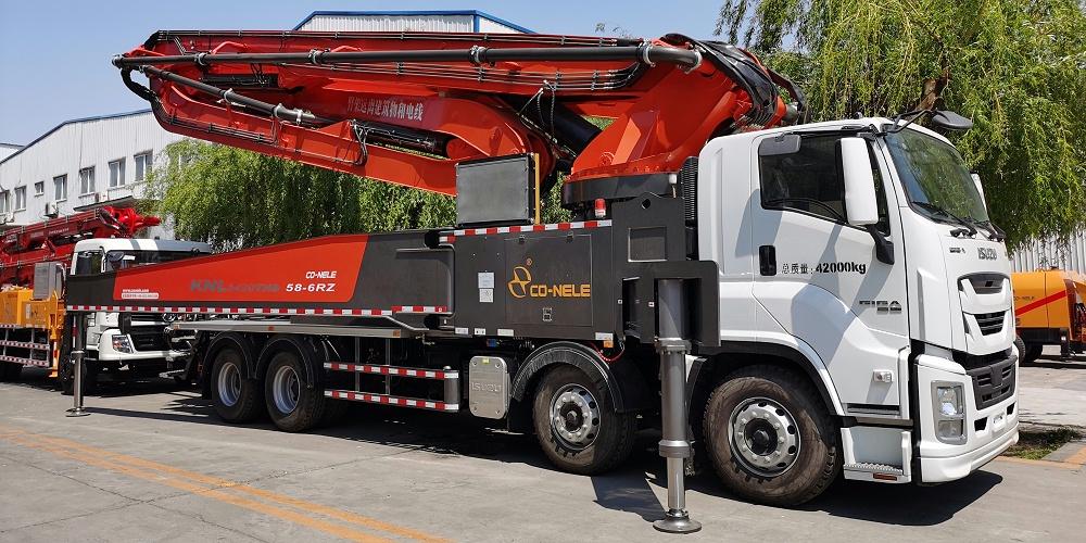 科尼乐 重庆五十铃58米泵车
