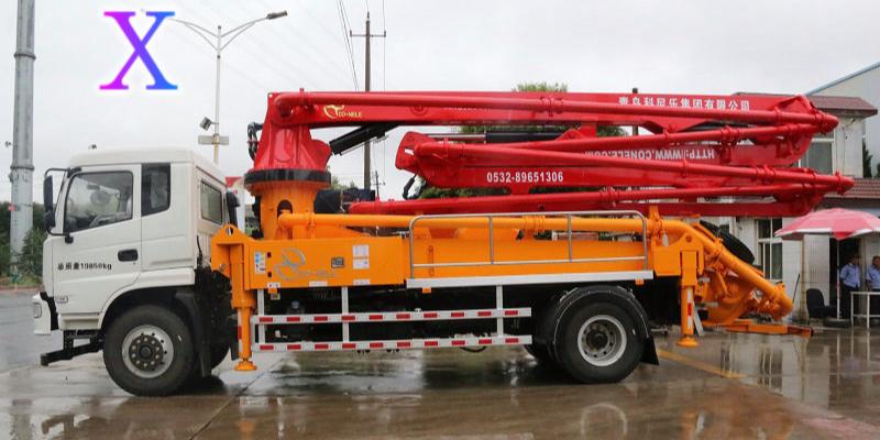 科尼乐小型混凝土泵车日常使用保养方法