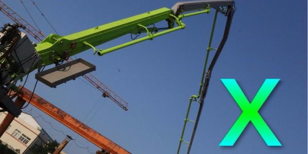 混凝土布料机的立架弯管处怎样用钢管进行固定,固定在哪个位置?