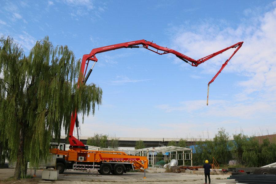科尼乐  重汽37米 混凝土泵车