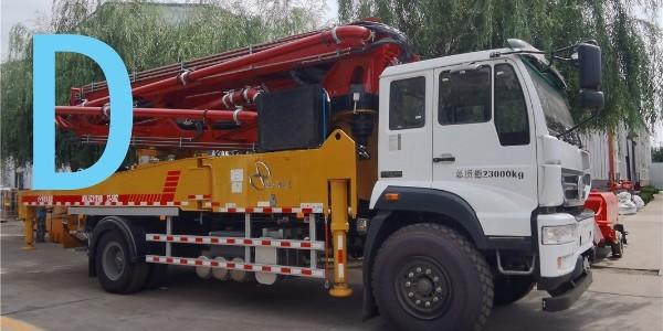 泵车泵机出口管路铺设要牢固