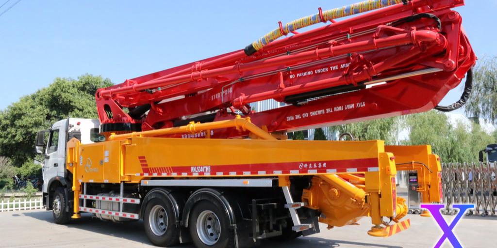 科尼乐小型混凝土泵车润滑油的正确添加方法